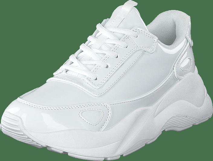 Bianco - Becky Patent Sneaker 803 - White 3