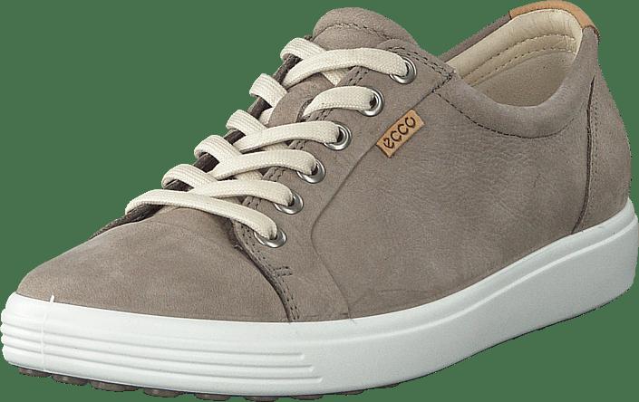 7 Beige Kjøp Soft Ecco Flats Grey Warm Sko Online gqg7ExX
