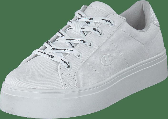 Low Cut Shoe Alex Platform White