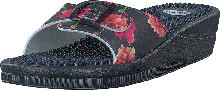 Scholl - New Massage Navy Flower