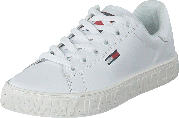 12efb0ce8 Buy Tommy Hilfiger Jaz 1a White white Shoes Online