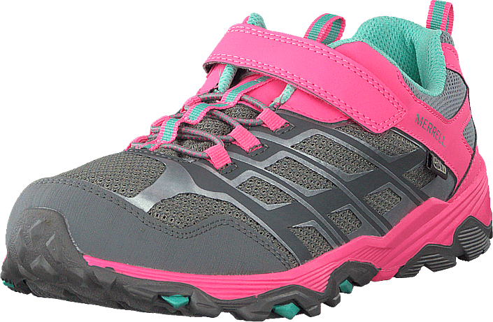 Merrell - Moab Fst A/c Low Wtpf Grey/coral