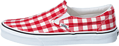 Ua Classic Slip-on (gingham) Racing Red/true