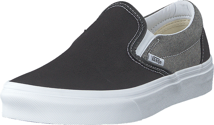Vans Classic Slip On (Chambray) Canvas Black | Footshop