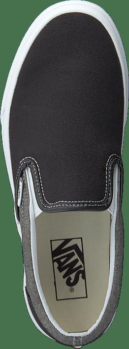 Kjøp Vans Ua Classic Slip-on (chambray) Canvas Black/t Sko Online
