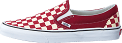 Ua Classic Slip-on (checkerboard) Rumba Red/