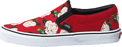 Ua Classic Slip-on (romantic Floral) Chili P