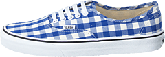 Ua Authentic (gingham) True Blue/true