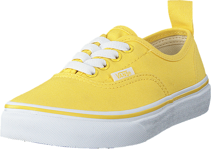 Vans - Uy Authentic Elastic Lace Aspen Gold/true White