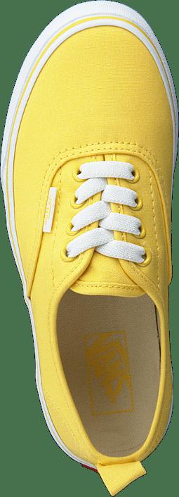 Vans - Uy Authentic Elastic Lace Aspen Gold/true White