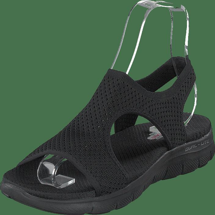 Online Vu 60167 Tøfler Sko 81 Flex Sorte Sandaler Bbk Deja 2 Køb Appeal 0 Skechers Og RqAYvA