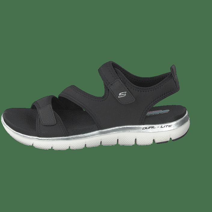 85 Skechers 0 Appeal Køb Online Sko Blk Tøfler Sorte Flex 2 Og Sandaler 60167 OZqZwndp