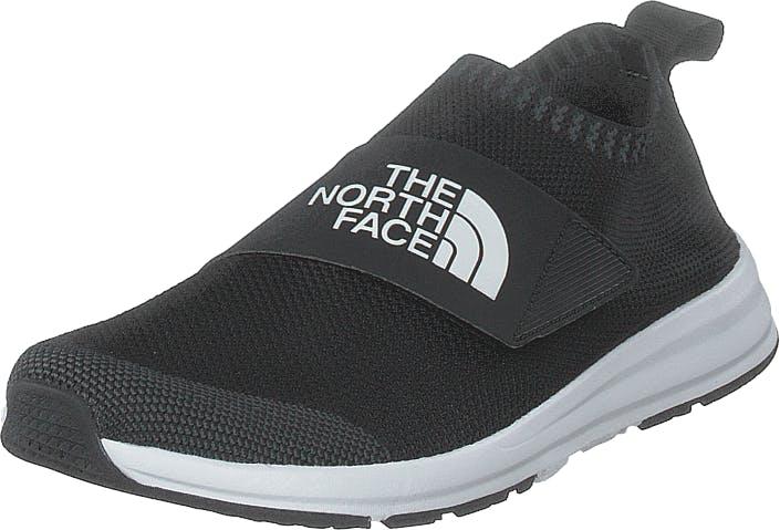 The North Face Womens Cadman Moc Knit Tnf Black/tnf Black, Skor, Sneakers & Sportskor, Löparskor, Svart, Dam, 40