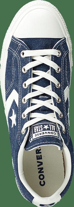 Converse Player egret Online Sko Sportsko Og 60168 Navy 99 Blå egret Køb Star Sneakers dEUqwdA
