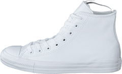 All Star Mono Leather White