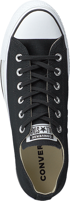 Kjøp Converse Chuck Taylor All Star Lift Ox Black/white/black Sko Online