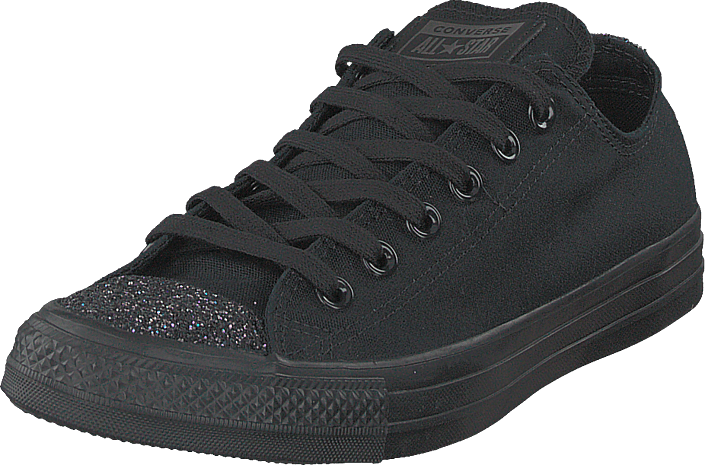 Converse - Chuck Taylor All Star Ox Black/black/silver