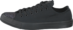 Chuck Taylor All Star Ox Black/black/silver