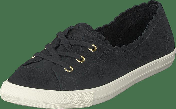 reputable site 5d14f 562d0 Converse - Chuck Taylor Ballet Lace Black gold egret