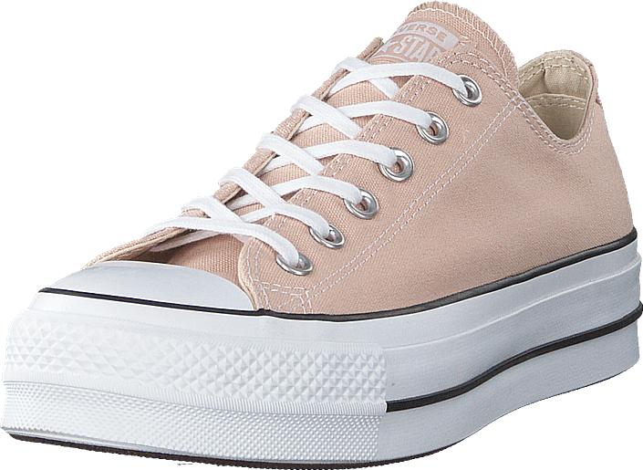 Converse - Chuck Taylor All Star Lift Ox Particle Beige/white/black