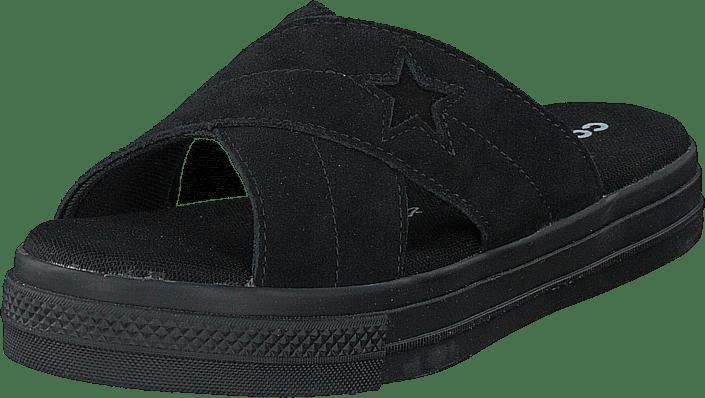 Converse - One Star Sandal Black/black/black