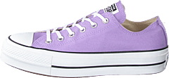 Chuck Taylor All Star Ox Lift Washed Lilac/ Black/ White