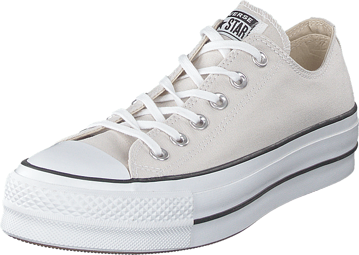 Converse - All Star Clean Lift Ox Pale Putty/white Black