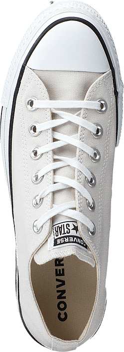 All Star Clean Lift Ox Pale Putty/white Black