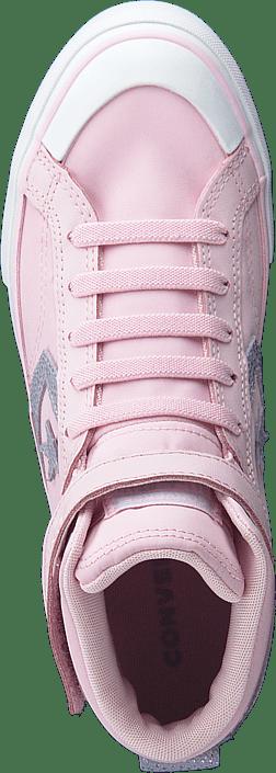 Kjøp Converse Pro Blaze Strap Ltr Hi Pink Sko Online