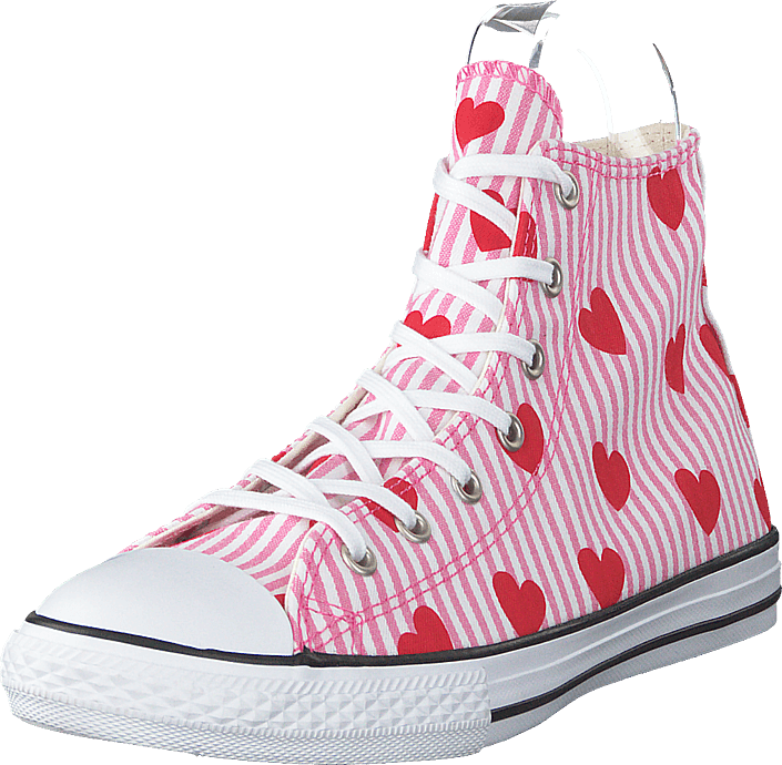 Converse - Chuck Taylor All Star Hi Pink/red