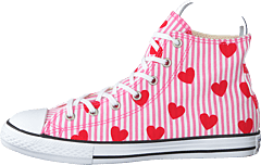 Chuck Taylor All Star Hi Pink/red