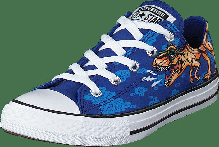 Chuck Taylor Ox Dinoverse Blue/black/white