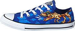 Chuck Taylor Ox Dinoverse Blue/black/white