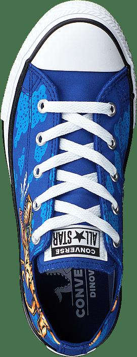 Converse - Chuck Taylor Ox Dinoverse Blue/black/white