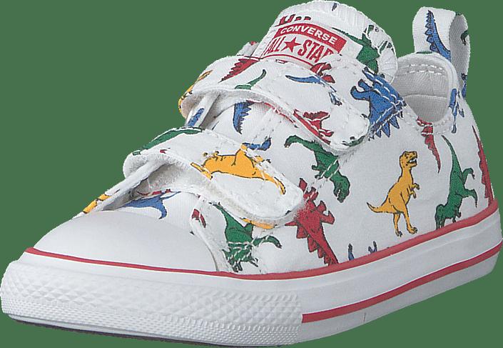 Converse Chuck Taylor Dinoverse vit enamel vita Skor Online