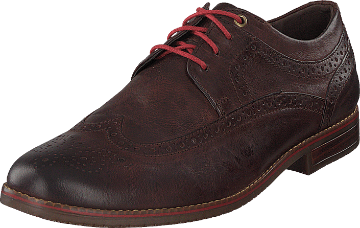 Rockport - Sp3 Wingtip Brown Goat Grain