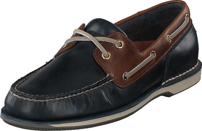 Rockport - Perth Navy/brown