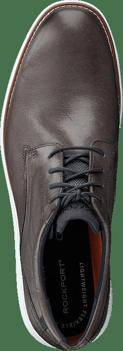 Rockport Garett Plain Toe Castlerock Grey/white Os Schuhe Kaufen Online