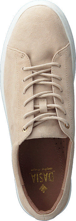 Buy Dasia Starlily Lace Up Nude Shoes Online