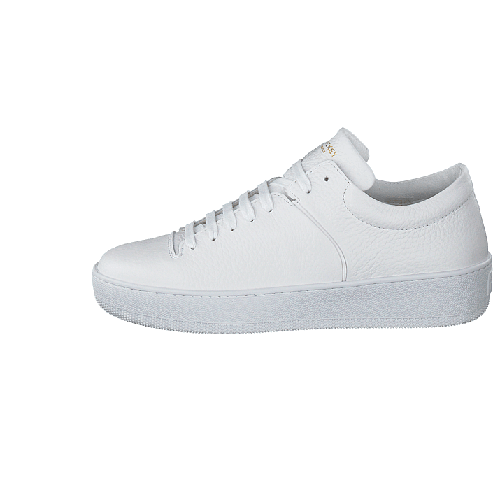 86915a43 Kjøp Jim Rickey Cloud Tumbled Fat Leather White hvite Sko Online |  FOOTWAY.no