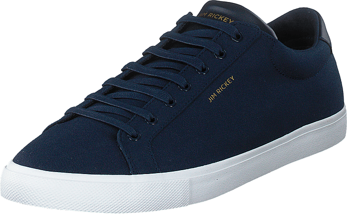 Jim Rickey Chop Canvas Navy blåa Skor Online