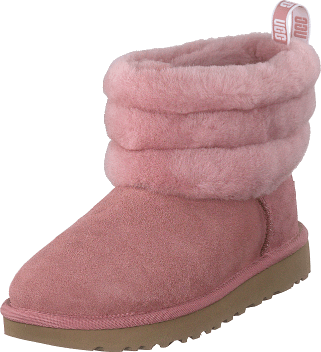 UGG - Fluff Mini Quilted Pink Dawn