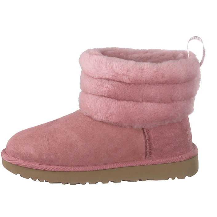 Fluff Mini Quilted Pink Dawn