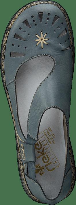 Rieker - 46315-12 Whitedenim