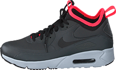 san francisco 76679 14a14 Nike - Air Max 90 Ultra Mid Winter Anthracite solar Red black