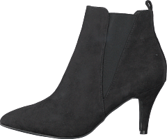 Low Heel Chelsea Black