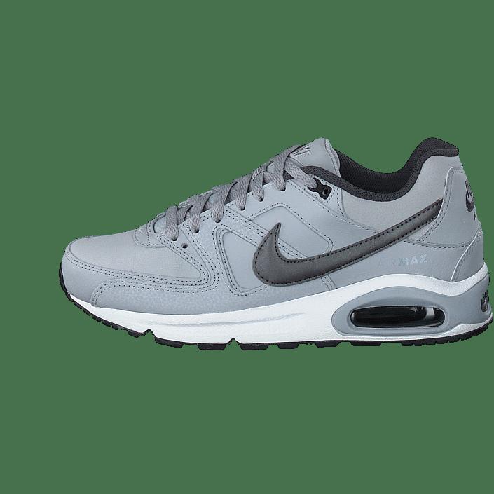 Köp Nike Air Max Command Leather Wolf Greymetallic Dark