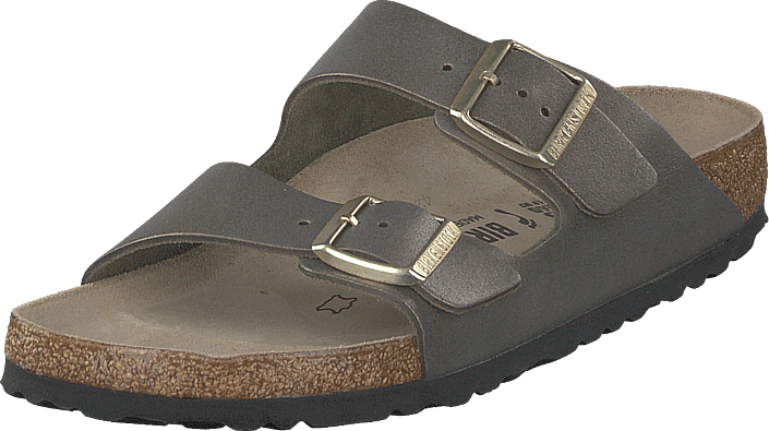 Birkenstock - Arizona Slim Washed Metallic Gold
