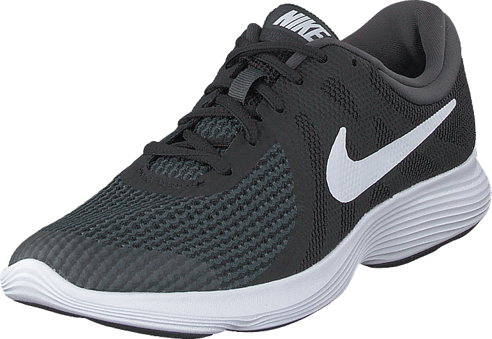 Nike - Revolution 4 (gs) Black/white-anthracite