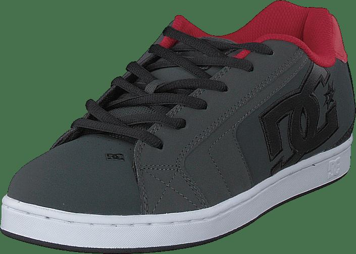 DC Shoes - Net Grey/dark Red